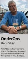 2017 – Organisator Hans in het WeesperNieuws